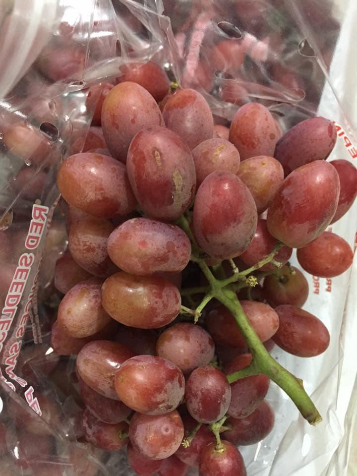 Nho đỏ không hạt US - Red Grapes- Vinfruits.com