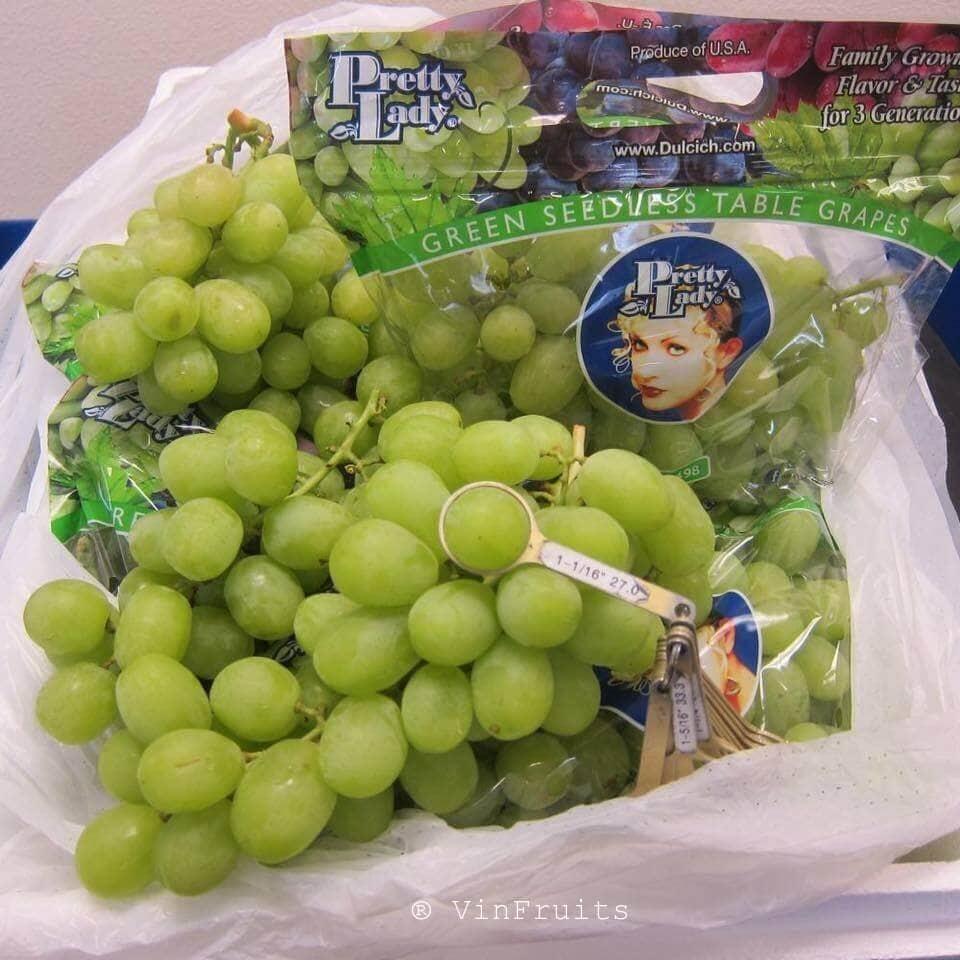 Nho xanh Mỹ - VinFruits