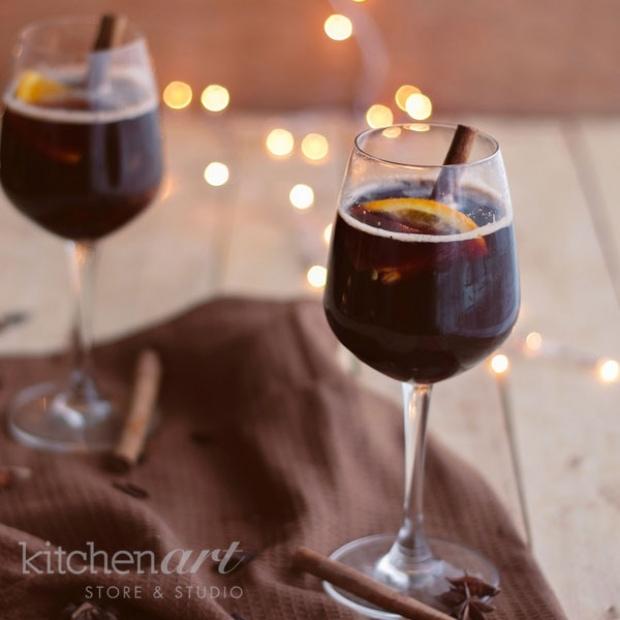 Rượu Mulled wine ấm nóng cho đêm Giáng sinh