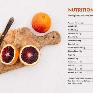 Cam Cara ruột đỏ không hạt Mỹ - Vinfruits.com