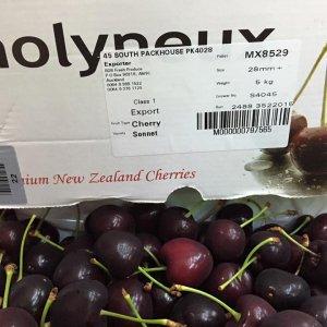 Cherry đỏ New Zealand nhập khẩu - Vinfruits.com