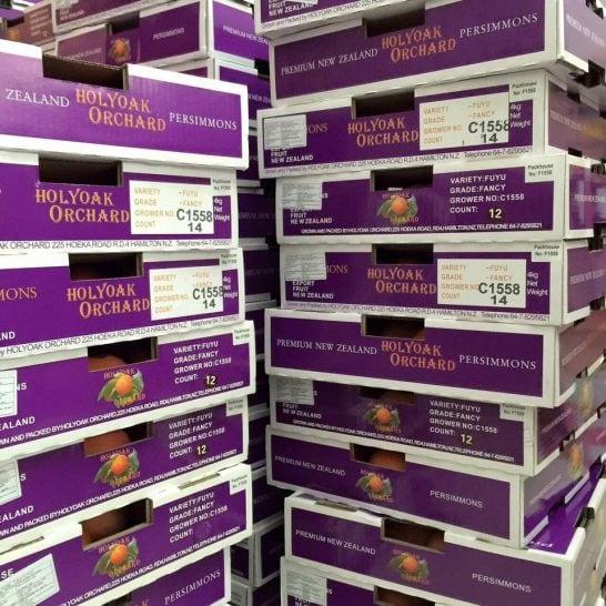 Hồng giòn Newzealand nhập khẩu - Vinfruits.com