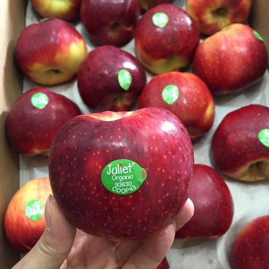 Táo hữu cơ Juliet Phap nhập khẩu - vinfruits.com