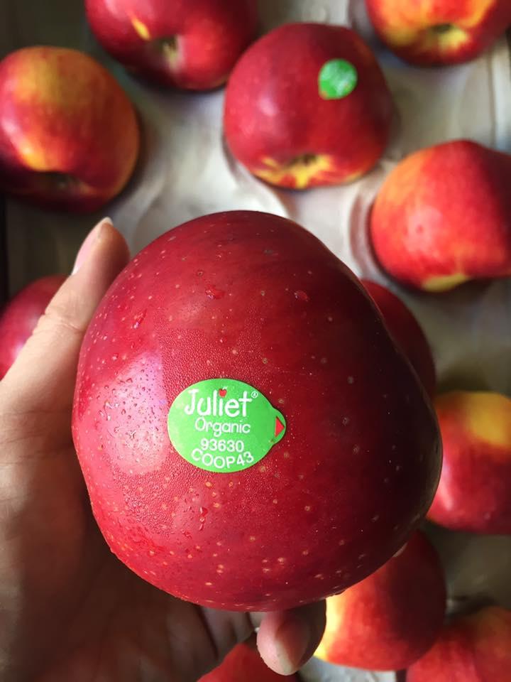 Táo Juliet hữu cơ Pháp - Vinfruits.com