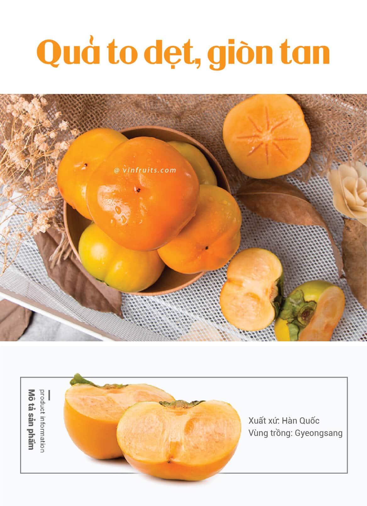 Hong gion Han Quoc - vinfruits 2