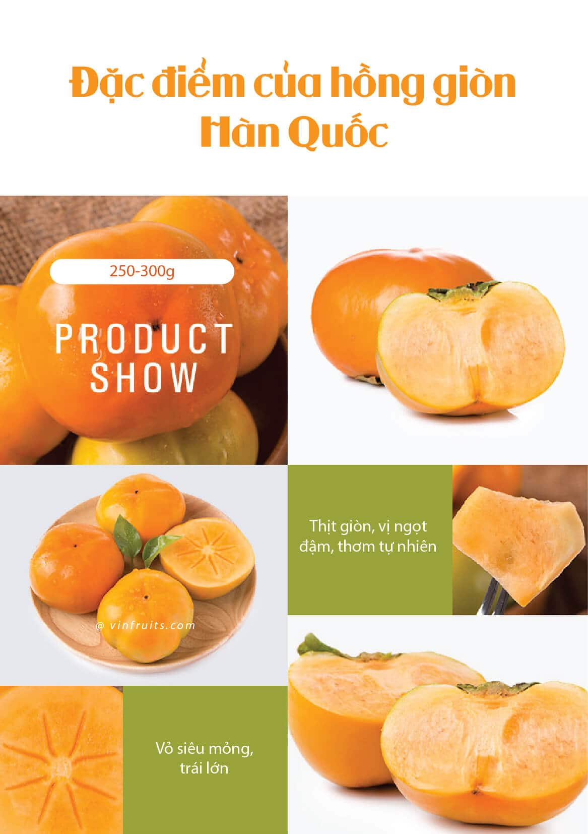 Hong gion Han Quoc - vinfruits 5
