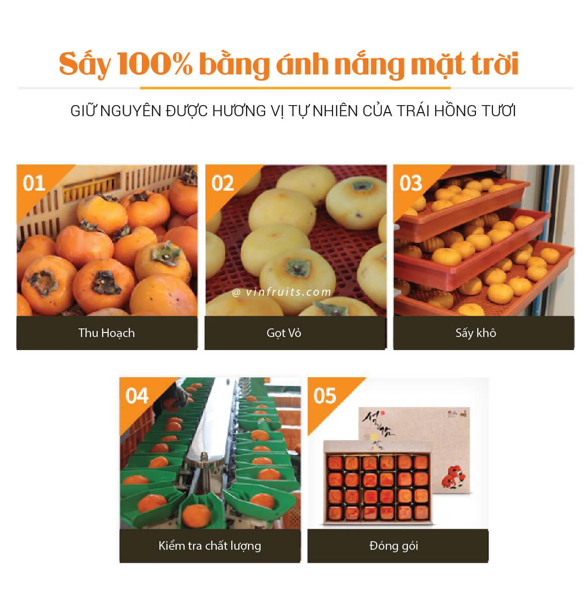 Hong mot nang Han Quoc - vinfruits.com 4