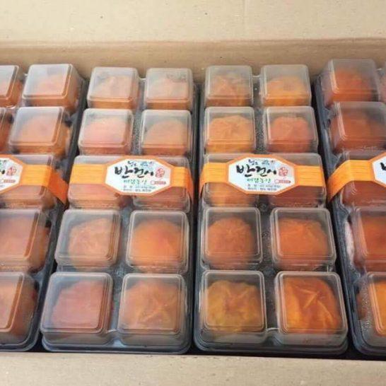 Hồng một nắng nguyên quả Hàn Quốc nhập khẩu - Vinfruits.com
