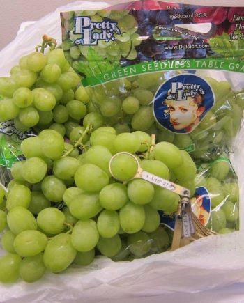 Nho xanh Petty Lady - Mỹ - Vinfruits.com