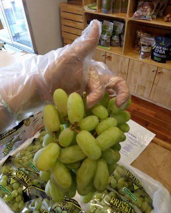 Nho xanh Pristine Mỹ nhập khẩu - Vinfruits.com