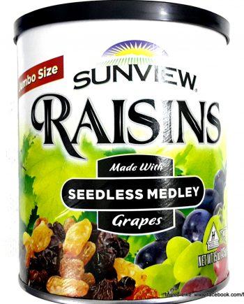 Nho khô Raisins Sunview Mỹ - VinFruits.com
