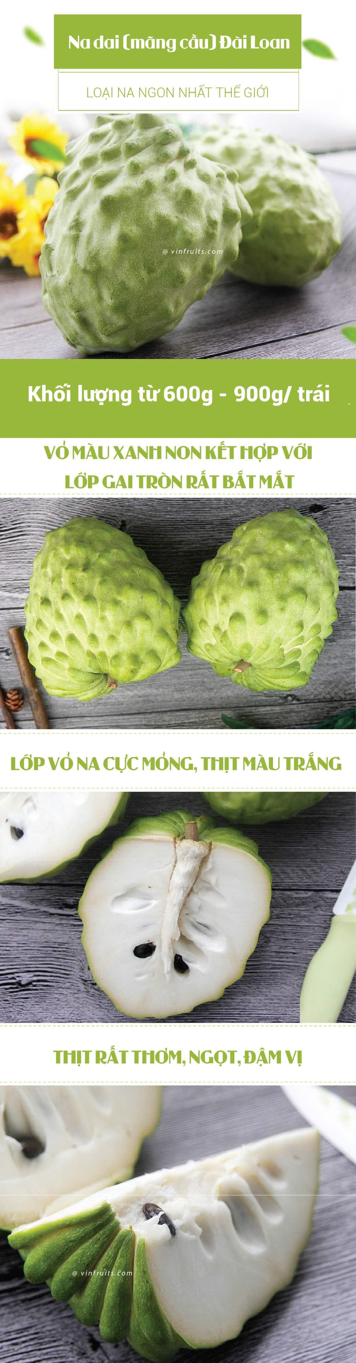 Na dai Dai Loan - vinfruits.com 1