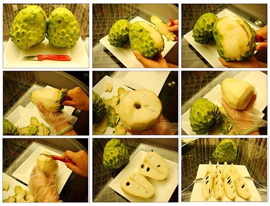Cách ăn na dứa Đài Loan
