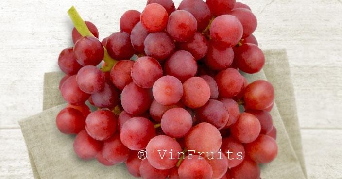 Nho đỏ Flame Seedless - VinFruits