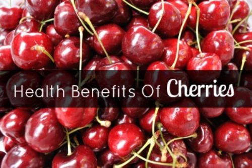 lợi ích của cherry đối với sức khỏe