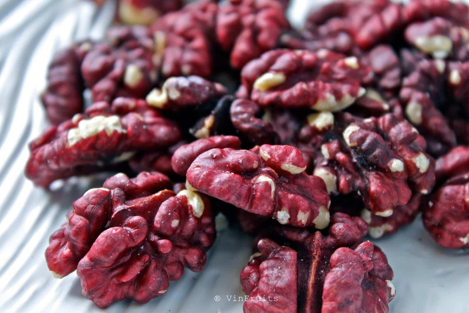 Óc chó đỏ - Red walnuts Mỹ