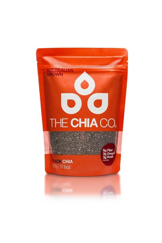 Túi chia đen Úc 500g - The Chia Co Black Chia