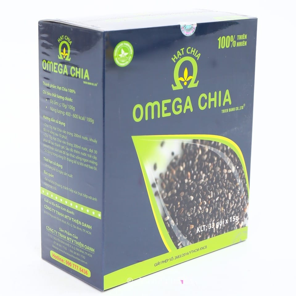 Hạt chia Omega Mỹ - Vinfruits