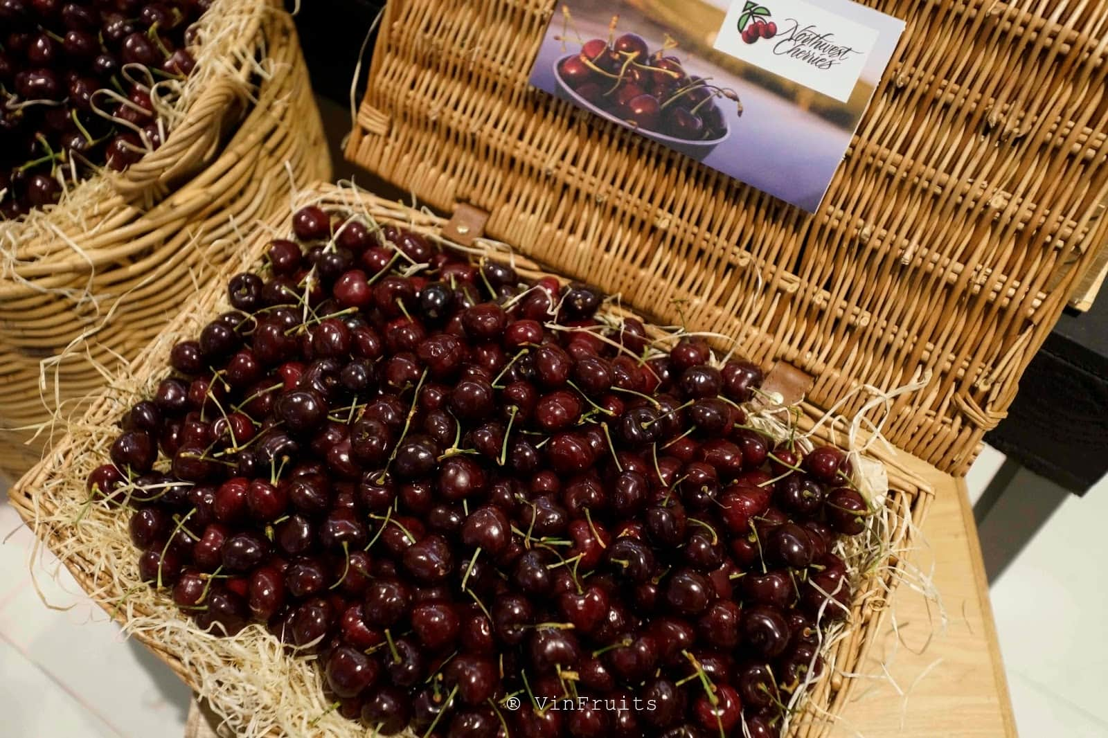 Quả cherry nhập khẩu từ Hoa Kỳ - Vinfruits