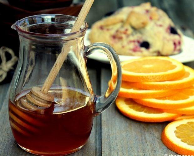 Cách pha nước cam mật ong