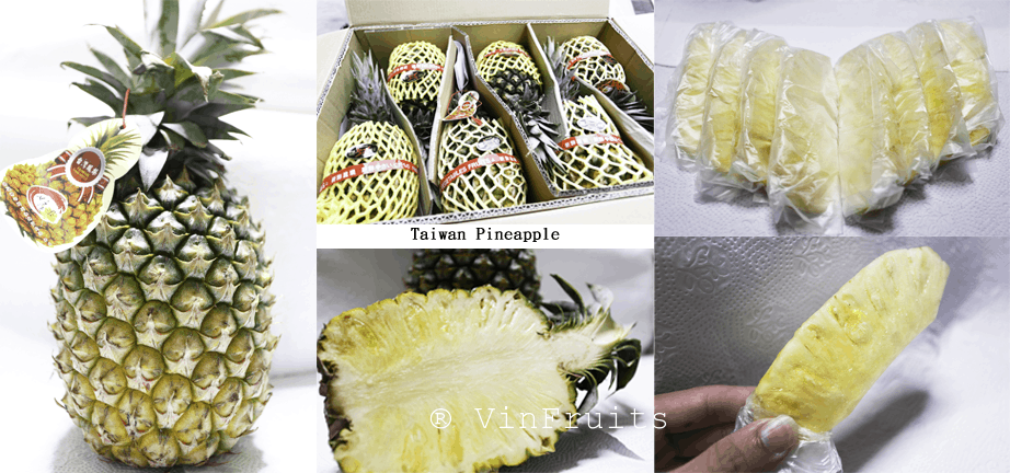 Quả thơm Đài Loan - Vinfruits