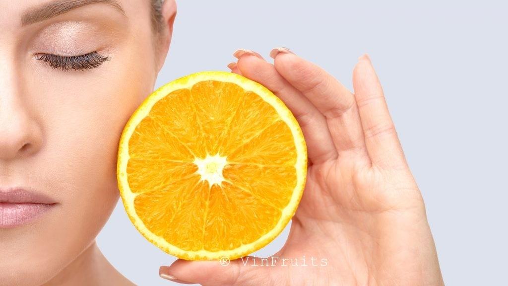 Tác dụng làm đẹp da của quả cam - Vinfruits