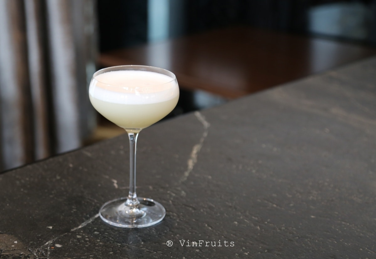 Yuzu Gin Sour - Vinfruits