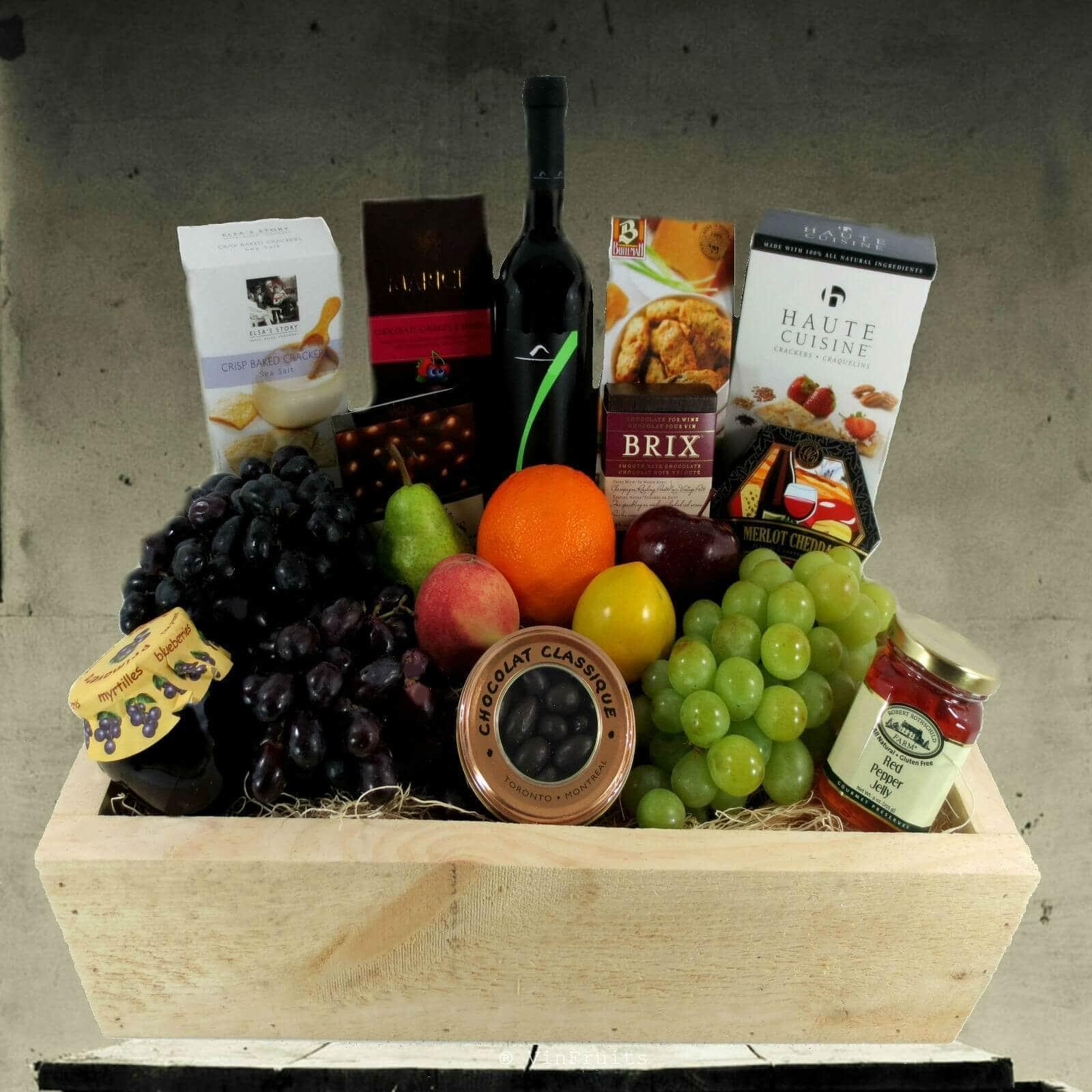 Giỏ quà tết đẹp năm 2018 - Vinfruits