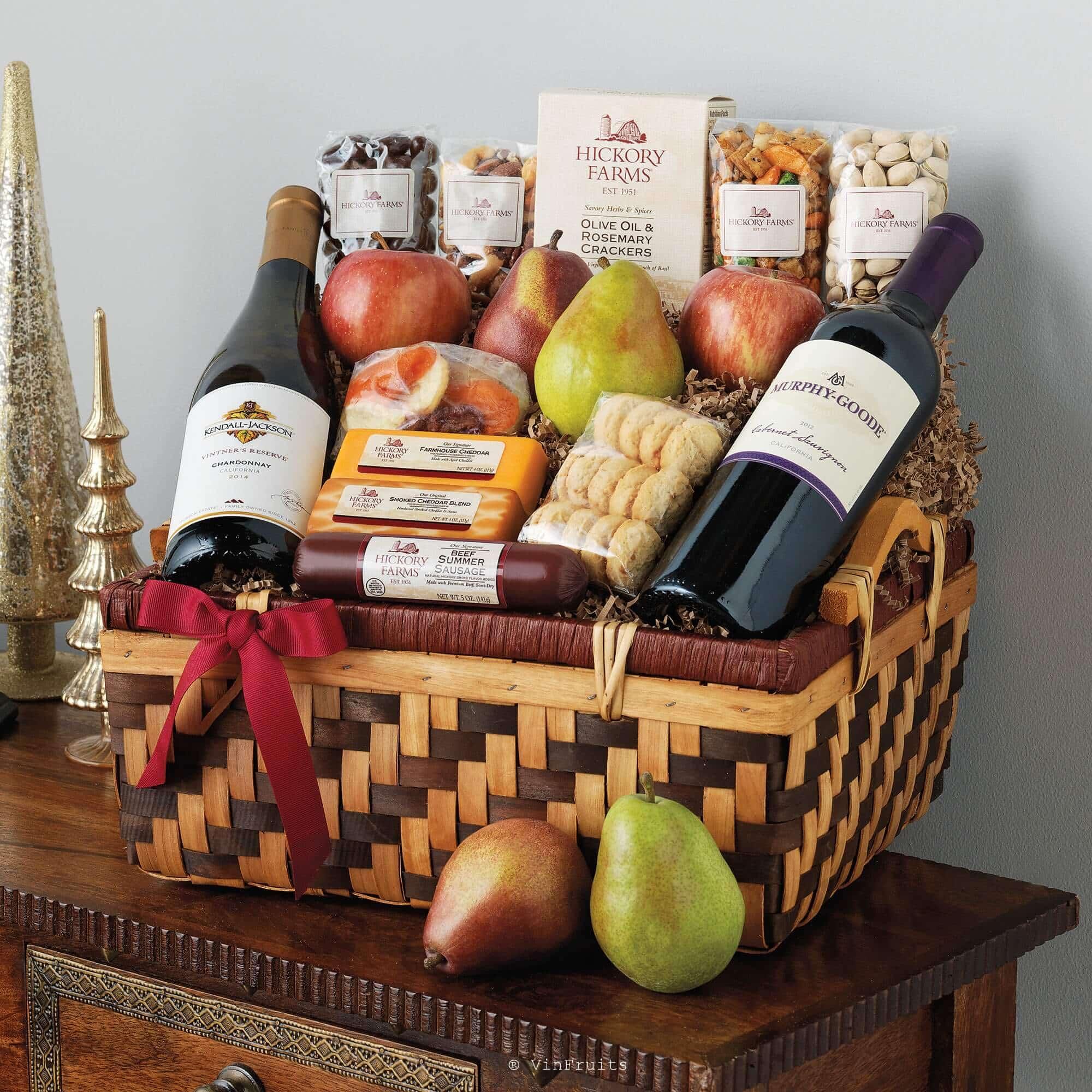 Giỏ quà tết độc đáo và ý nghĩa - Vinfruits