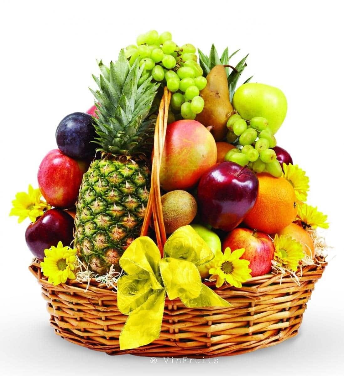 Giỏ trái cây Tết 2018 - Vinfruits