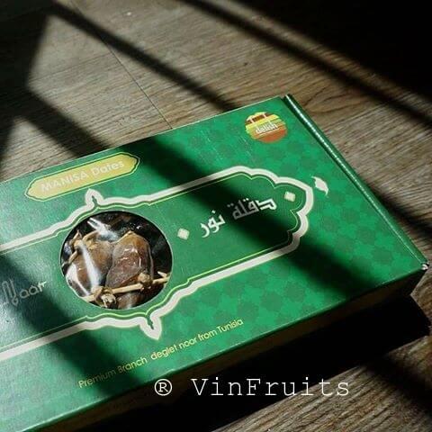 Chà là nguyên cành Hosna Pháp 500g - Vinfruits