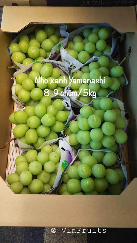 Nho mẫu đơnYamanishi - Vinfruits