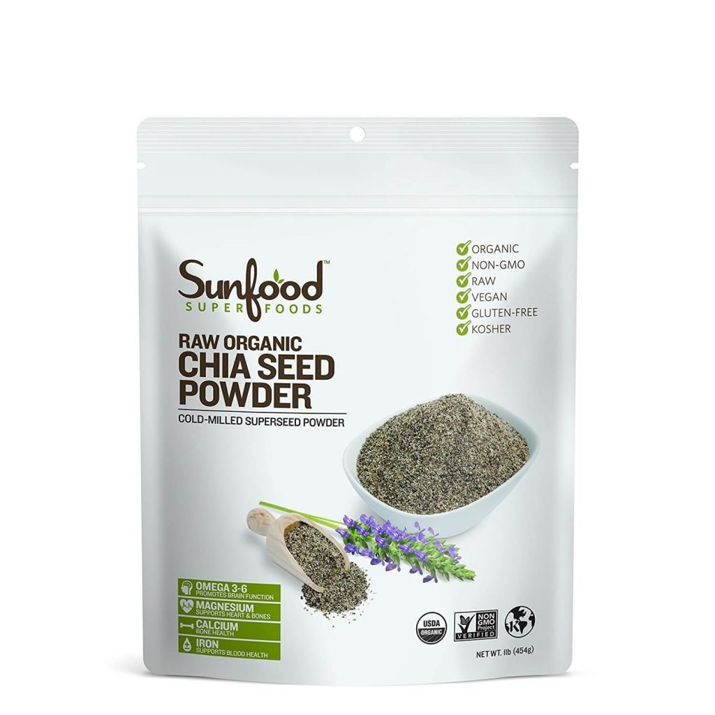 Sunfood Chia Seed Powder - Vinfruits