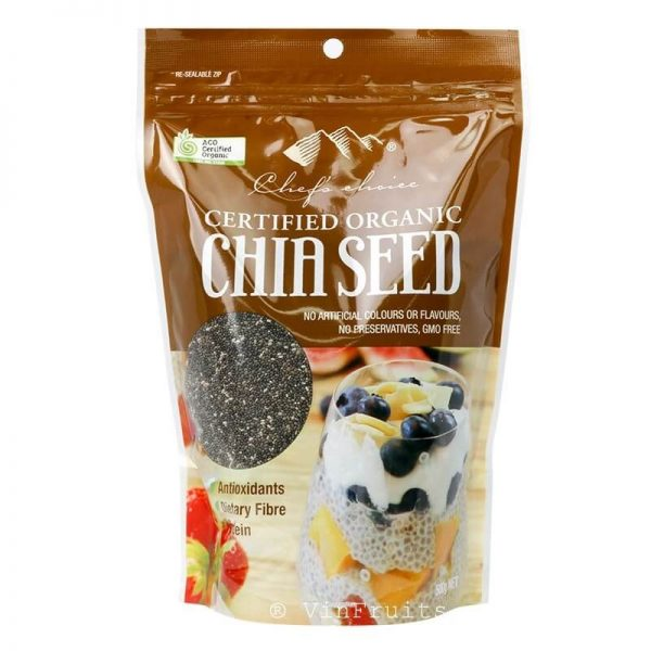 Chef's Choice Chia Seed 500G Úc - Vinfruits