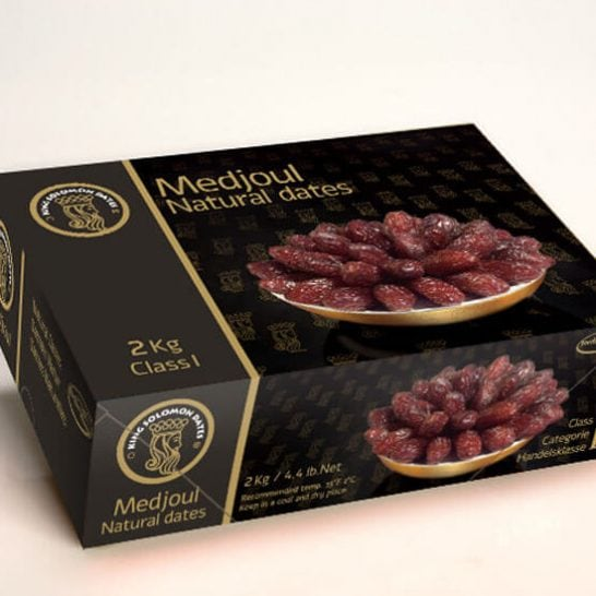 Medjoul Natural Dates Isarel 1kg - Vinfruits