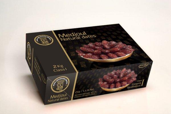 Medjoul Natural Dates Isarel 1kg - Vinfruits