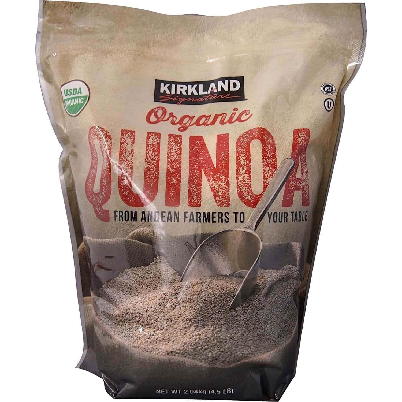 Hạt diêm mạch Kirkland Signature Organic Quinoa - 2.04kg - VinFruits