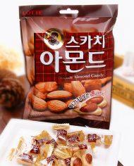 Kẹo Hạnh Nhân LOTTE Hàn Quốc túi 90g (Scotch Almond Candy) 1 4