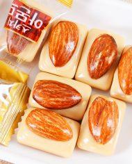 Kẹo Hạnh Nhân LOTTE Hàn Quốc túi 90g (Scotch Almond Candy) 13