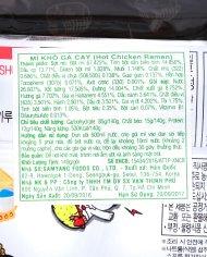 Mỳ cay truyền thống samyang Hàn Quốc – Gói 140 G – vinfruits 1