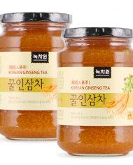 Trà Nhân Sâm Mật Ong Nokchawon Korean Ginseng Tea 580g 2