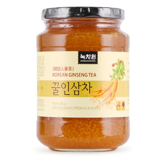 Trà Nhân Sâm Mật Ong Nokchawon Korean Ginseng Tea 580g 3