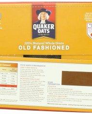 Yến mạch nguyên hạt Quaker Oats Old Fashioned 4.52 kg – vinfruits 2