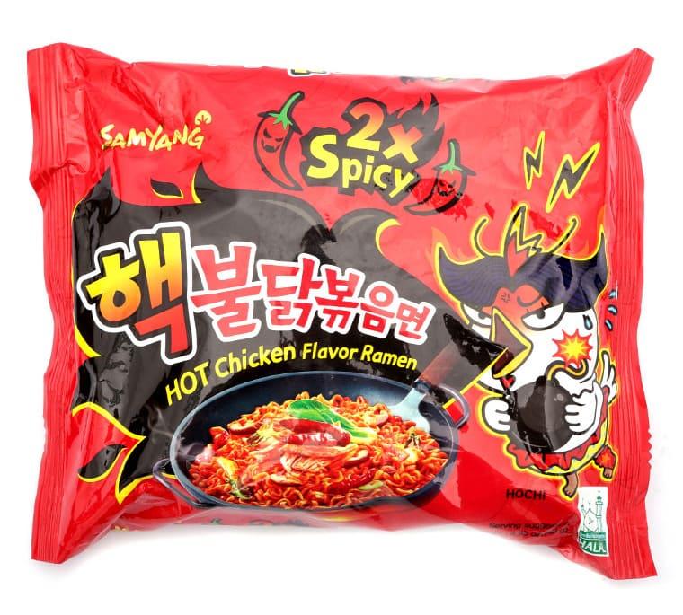 Mì gà cực cay 2x Spicy Hàn Quốc (140g)