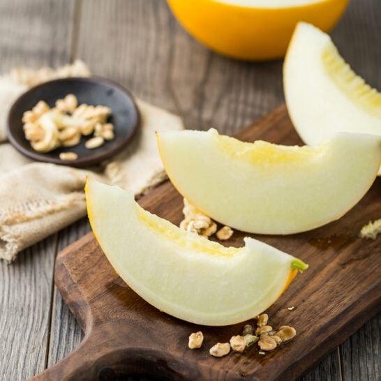 Dưa lưới vàng - vinfruits.com 2