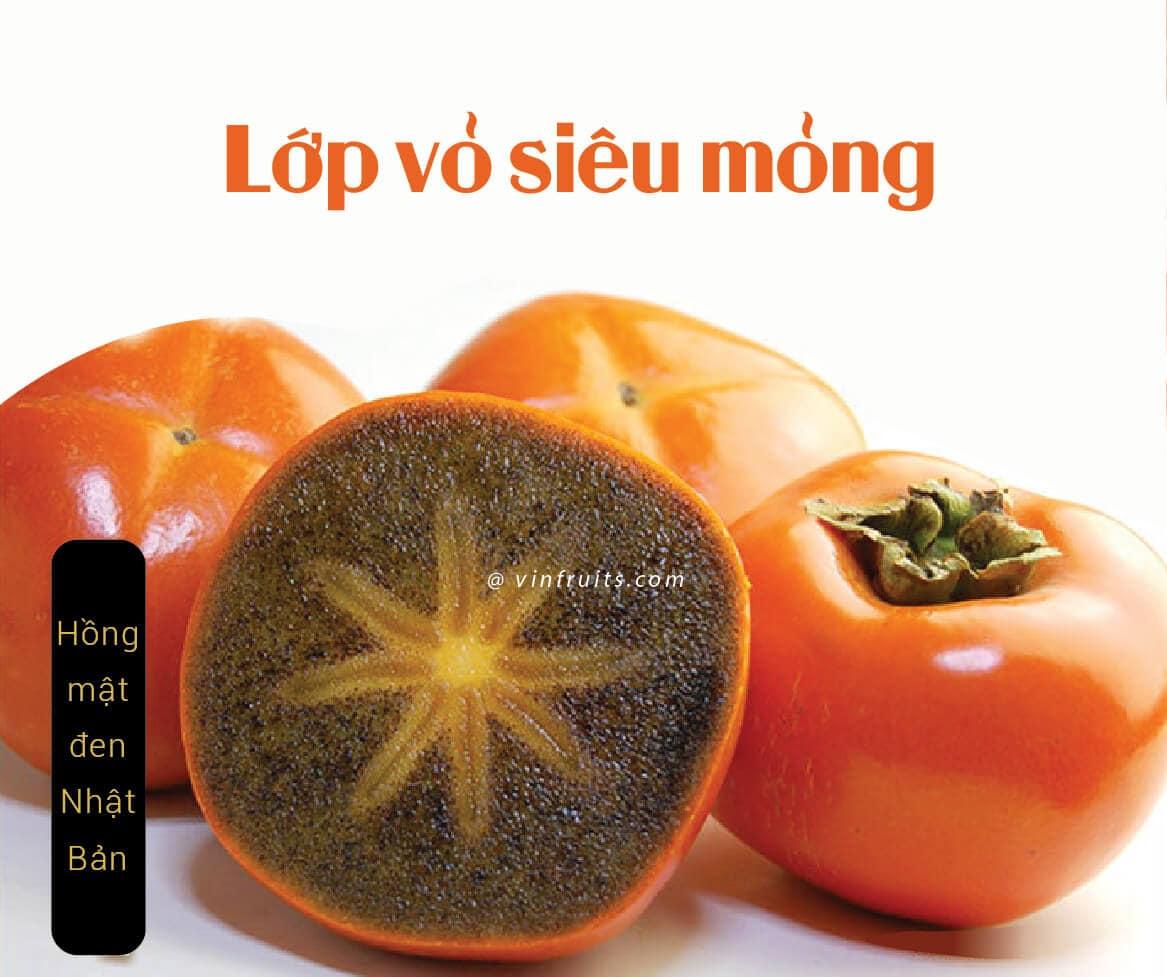 Hong mat den Nhat Ban - vinfruits 3