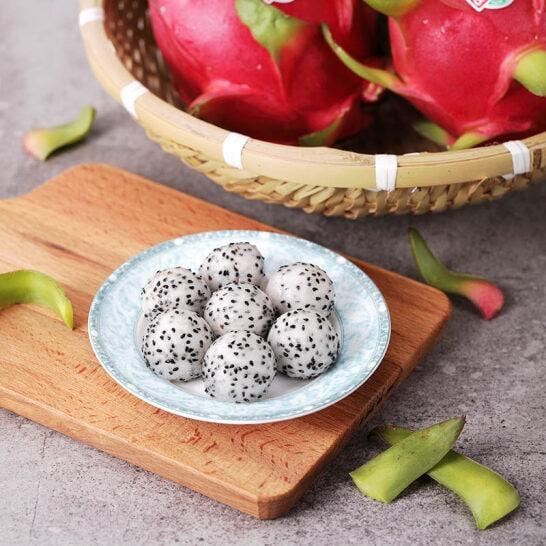 Thanh long ruot trắng Bình Thuận - vinfruits.com 3
