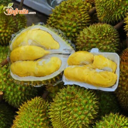 Sầu riêng Cái Mơn vỏ mỏng, hạt lép, màu vàng mỡ gà - Envyfruits