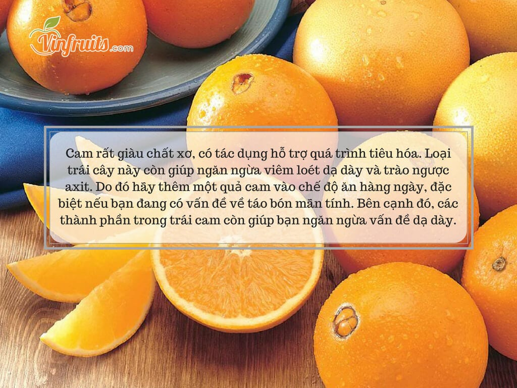 Ăn cam rất tốt cho sức khỏe - Vinfruits