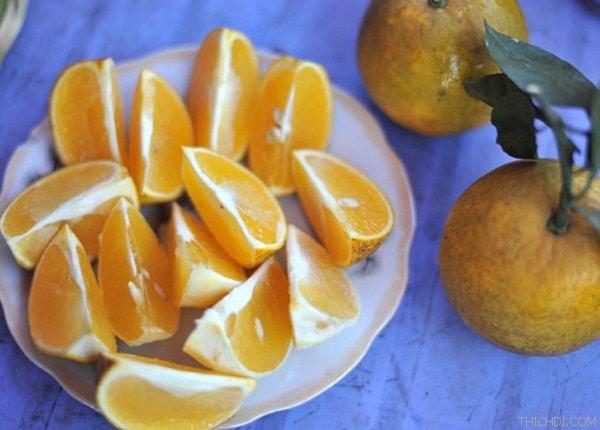 Cam Cap Phòng lòng vàng - Vinfruits